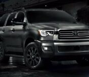 2022 Toyota Sequoia Nightfall Edition Sx Pickup Truck Changes