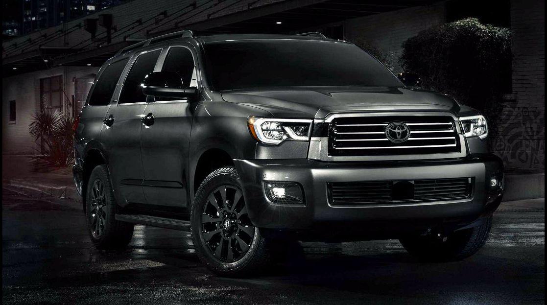 2022 Toyota Sequoia Nightfall Edition Sx Pickup Truck Changes