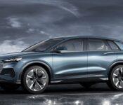 2022 Audi Q6 Pattern A6 Battery Location Blue Build