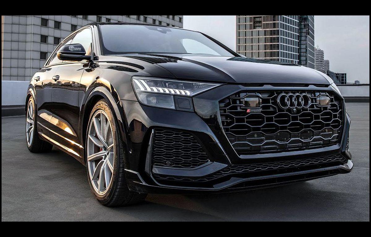 2022 Audi Q8 Ambient Lighting Aftermarket Exhaust Atlanta Air