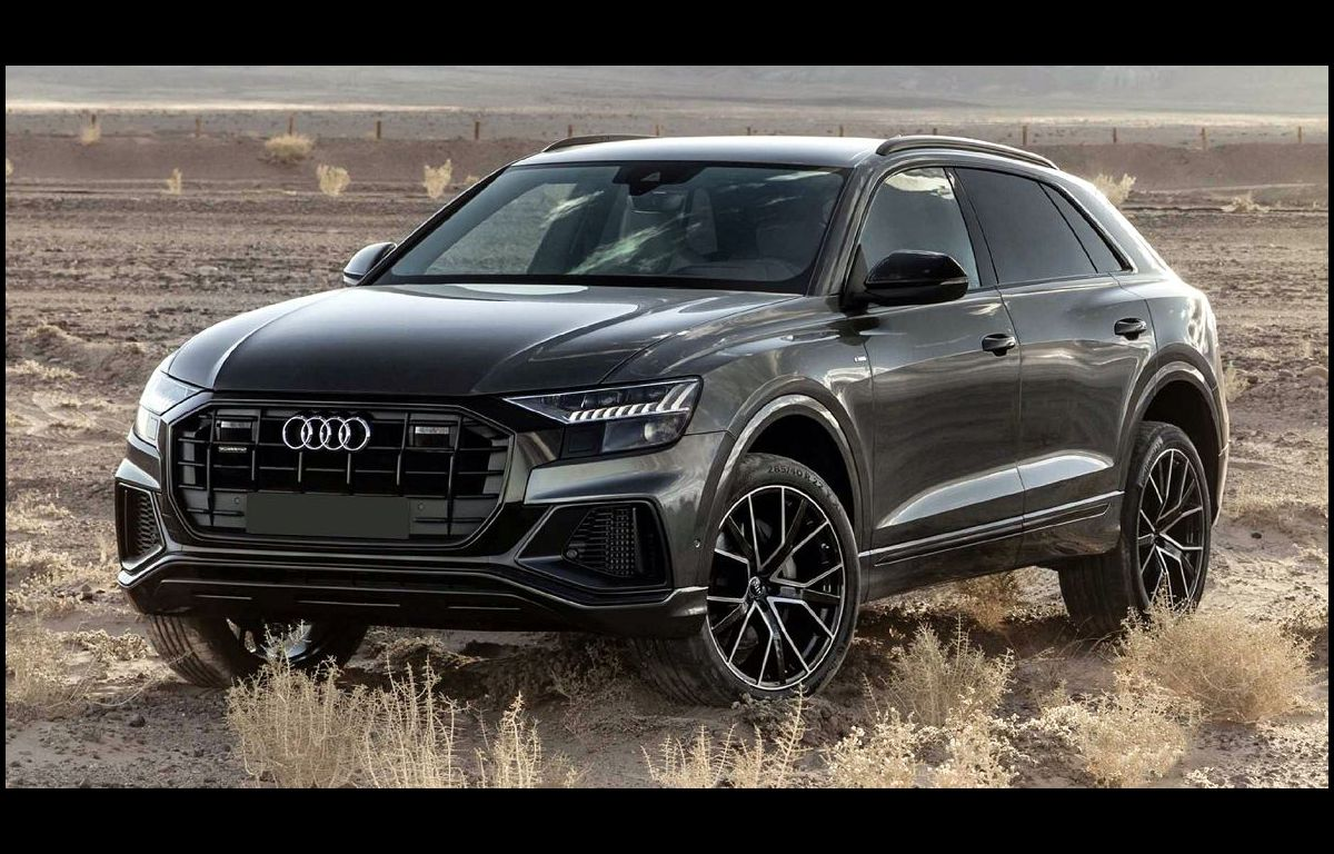 2022 Audi Q8 Blacked Out Blue Optic Package Body
