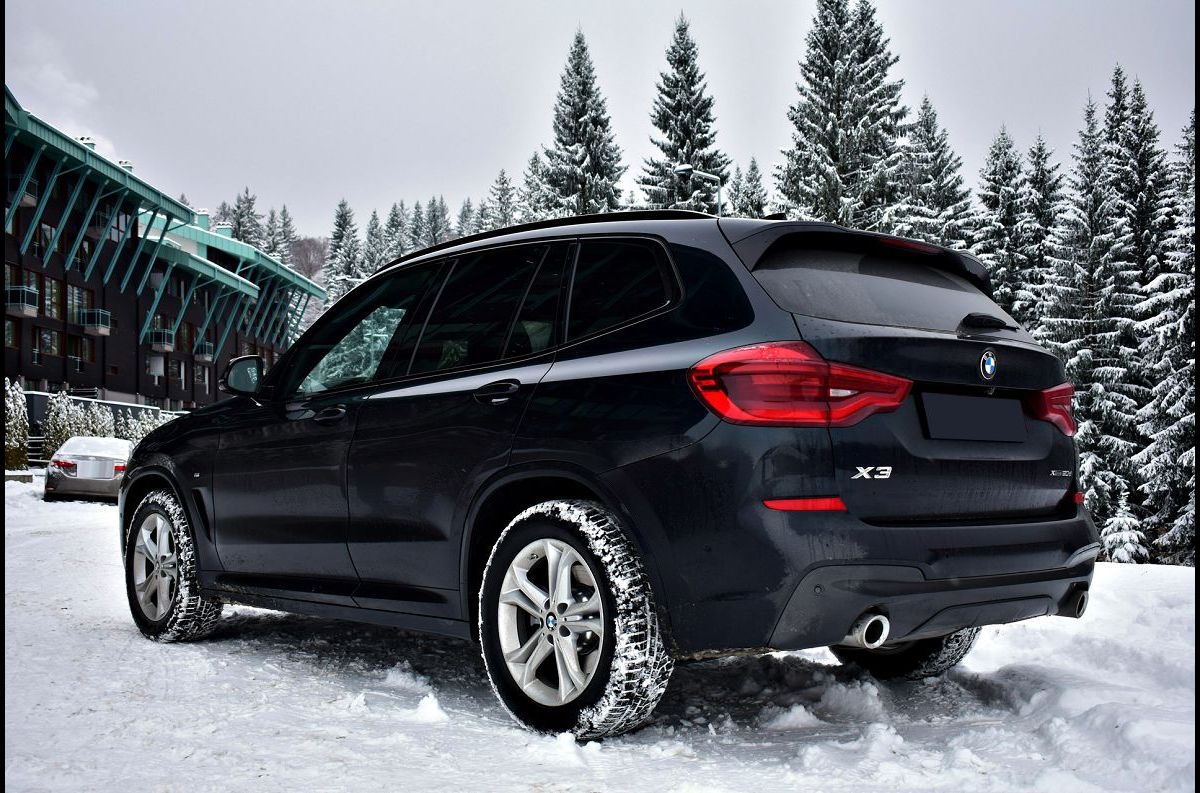 2022 Bmw X3 Blue Location Brake Pads And Rotors