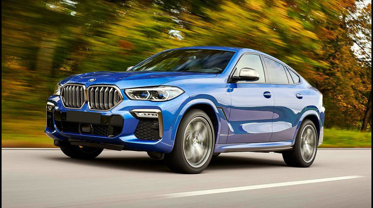 2022 Bmw X6 Coupe Certified Pre Owned Cargo