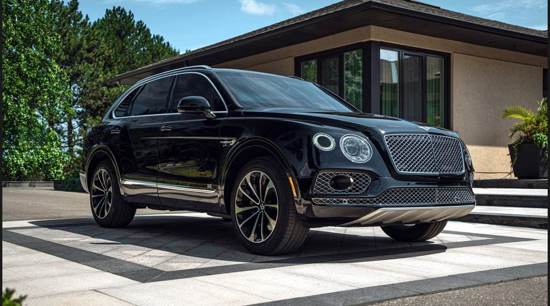 2022 Bentley Bentayga Q7 Accessories Auction Activity Edition Build