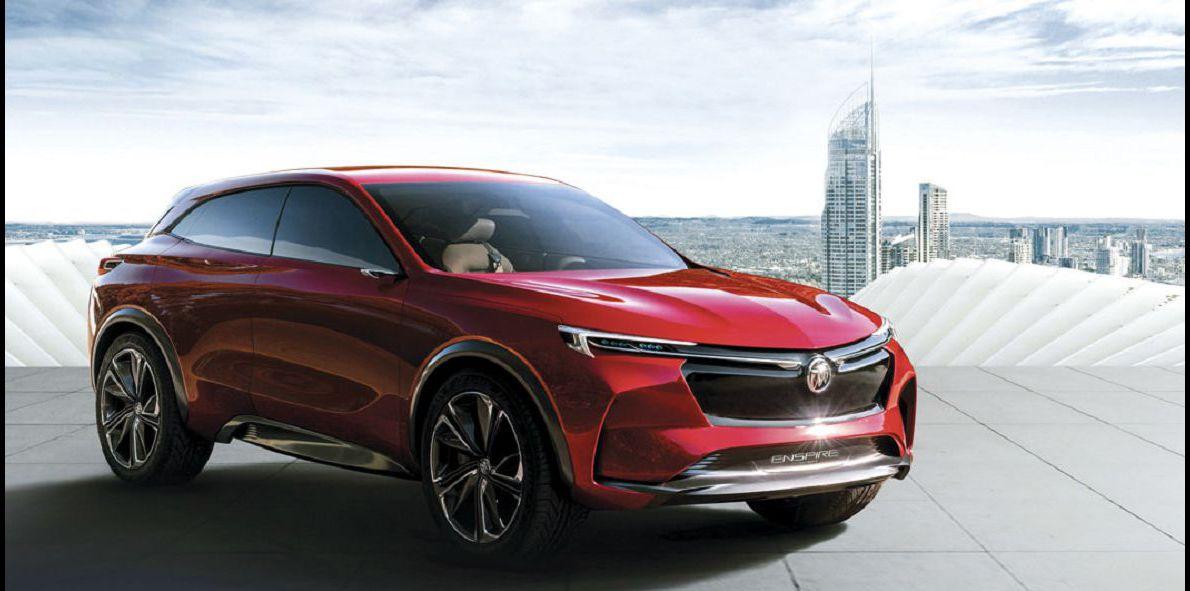 2022 Buick Enspire Concept Ev 2019