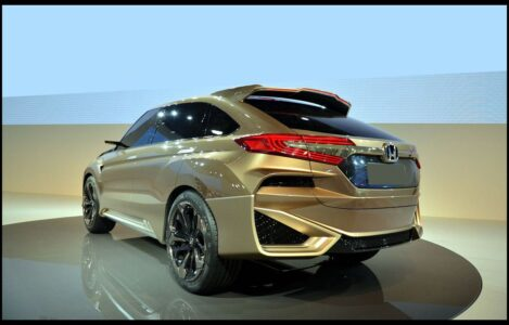2022 Honda Crosstour Back V5 Custom Cargo Space