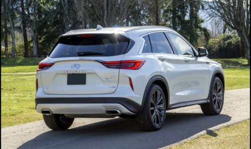 2022 Infiniti Qx50 Fuel Economy On Black Base Battery
