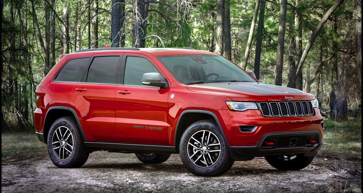 2022 Jeep Grand Cherokee The Released Colors Concept Changes Debut