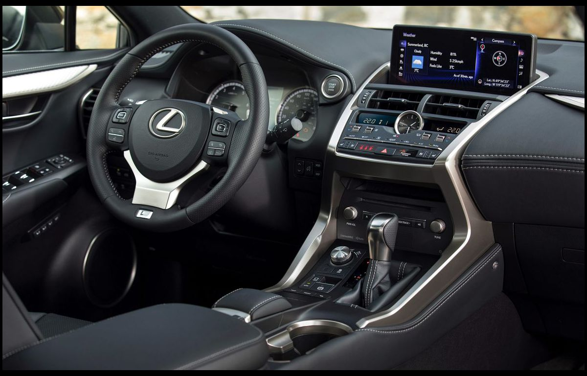 2022 Lexus Nx 300 Model Back Seat Fold Down Blue