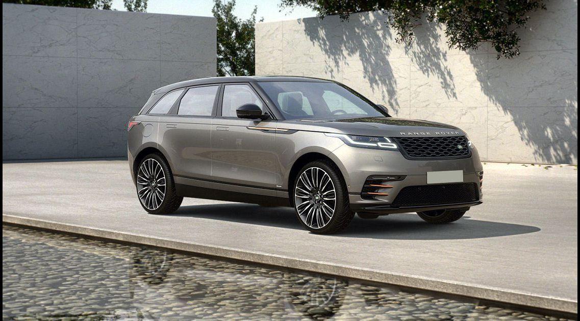 2022 Range Rover Velar Autobiography Accessories All Black Ambient