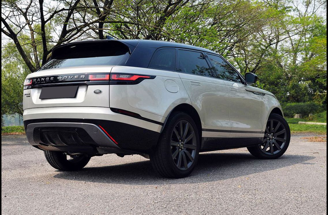 2022 Range Rover Velar Buy Hire Inside Finance Blacked Out