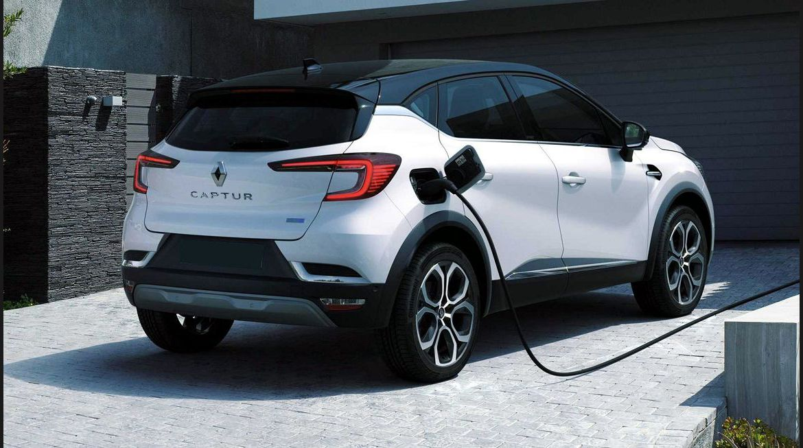 2022 Renault Captur With Engine In Tyre Pressure Boot Lease