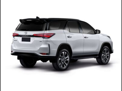 2022 Toyota Fortuner Space Colour Suv Size Bhp Reliability