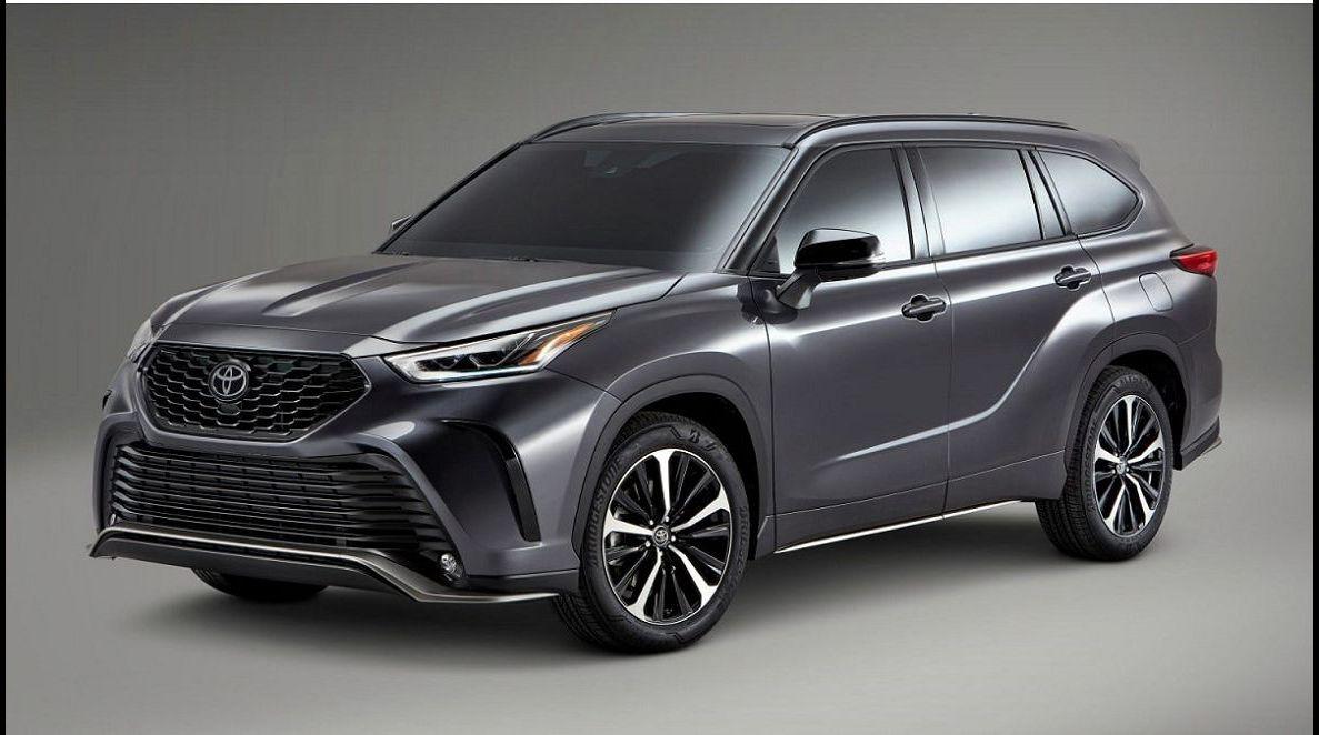 2022 Toyota Highlander 2021 New Colors Cost Drivetrain