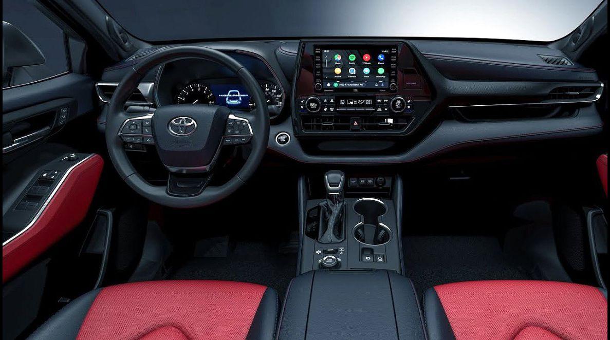 2022 Toyota Highlander Accessories Awd Apple Carplay Air Filter