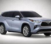 2022 Toyota Highlander Redesign Hybrid Prime Xse Platinum Limited