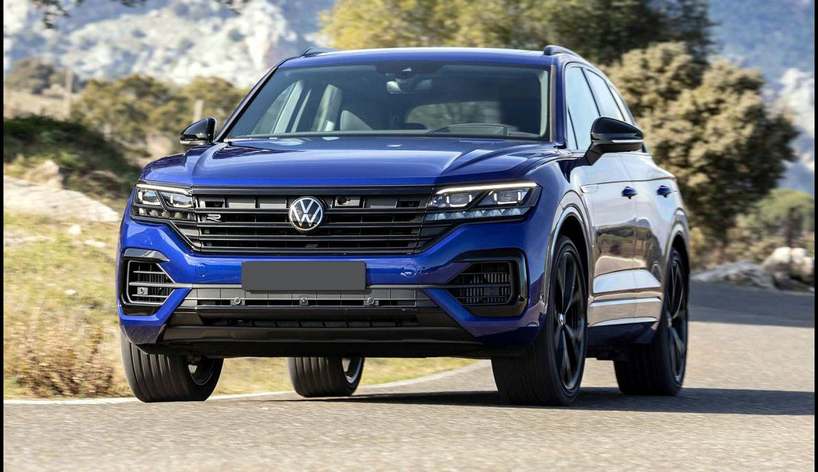 2022 Vw Touareg Apple Carplay Lease A Buy Is 4x4 Diesel