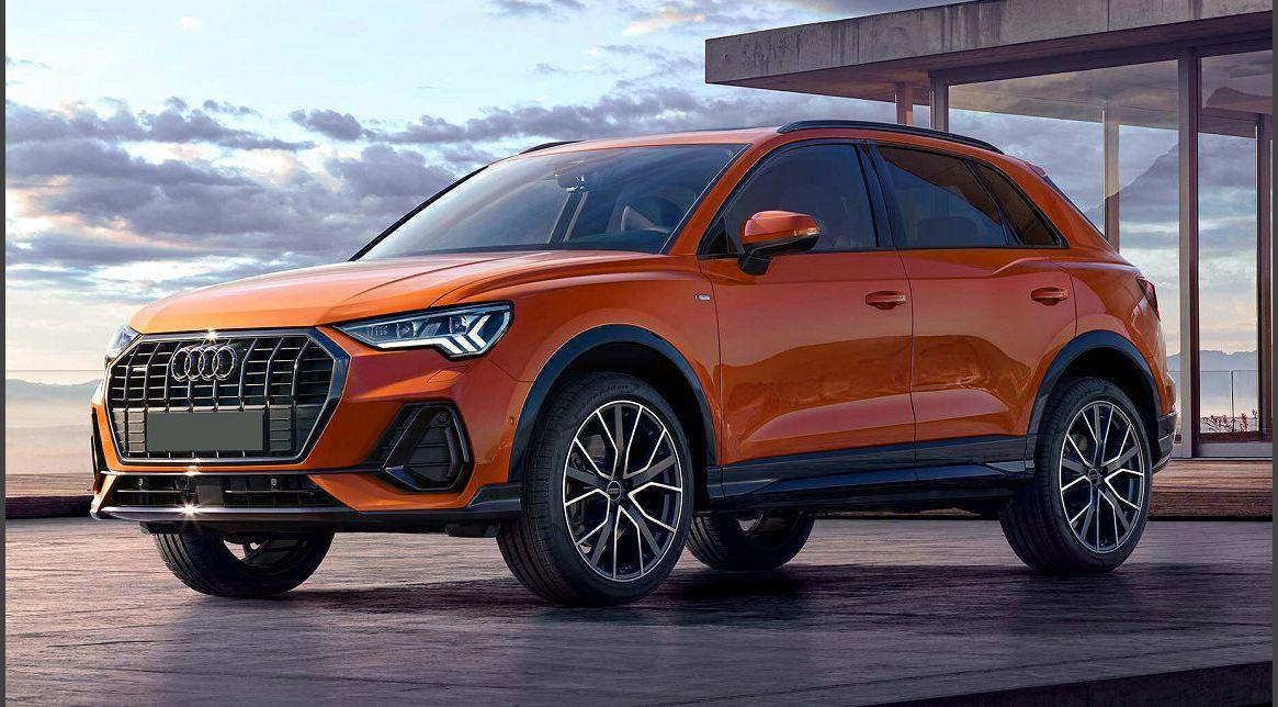 2022 Audi Q3 Sportback Facelift New Restyling Competitors