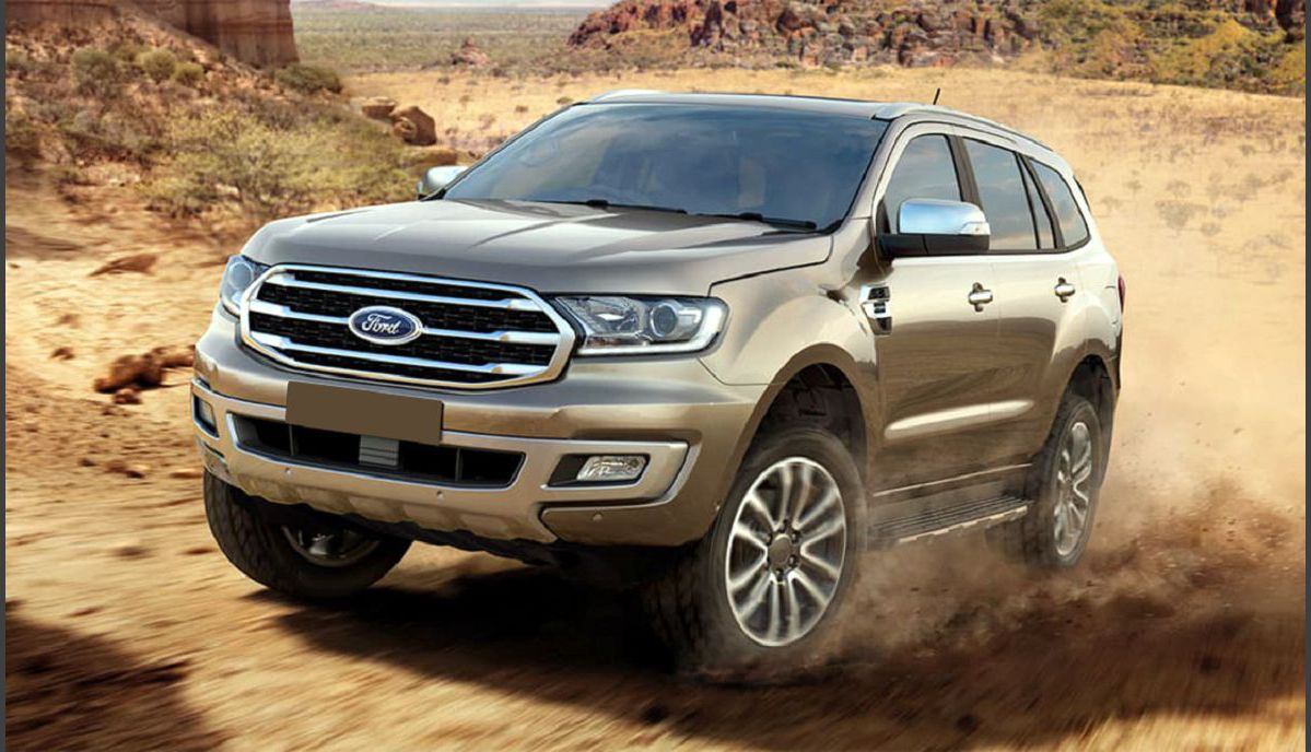 2022 Ford Endeavour Accident The Black Bs6 Colour Edition Review