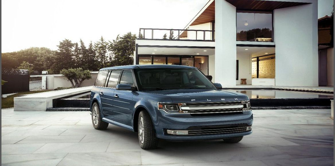 2022 Ford Flex Program Black Battery Body Kit Blue