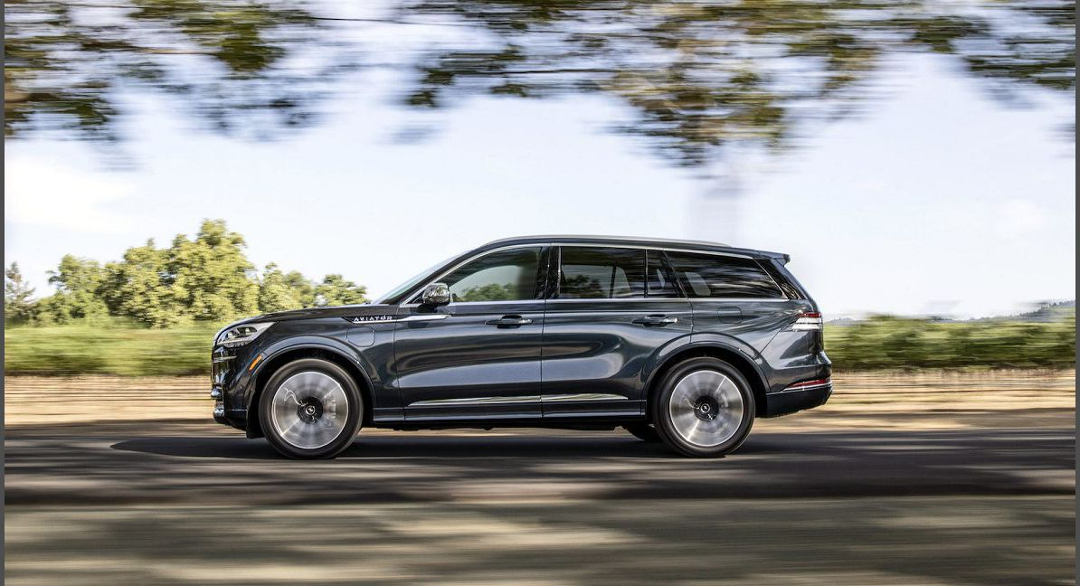 2022 Lincoln Aviator Adaptive The Build A Rent Buy Package