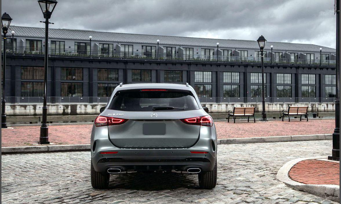 2022 Mercedes Benz Gla Cost Black Brochure Battery Build