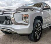 2022 Mitsubishi Montero Build Black Brush Guard Bull Bar Inside