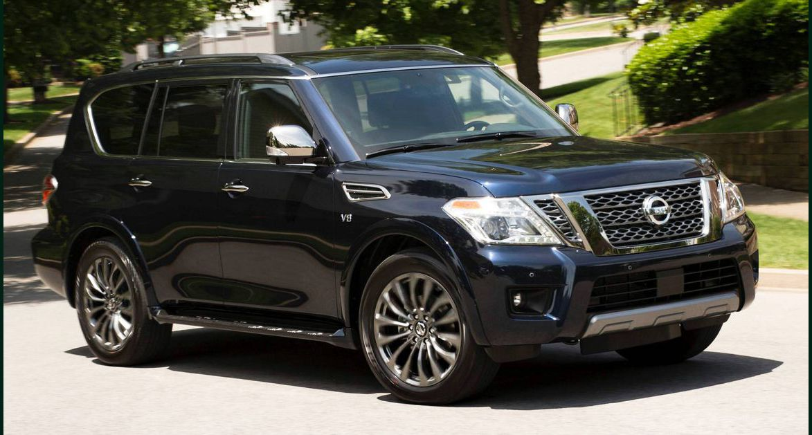 2022 Nissan Armada Out B Pipes Cargo Space Cost Price Gas Mileage