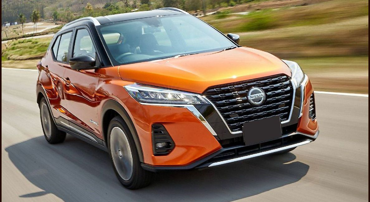 2022 Nissan Kicks Brochure Button On Shifter Colors Cargo