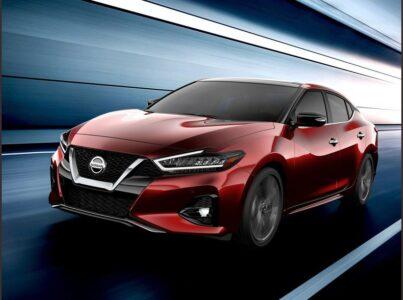 2022 Nissan Maxima Body Kit Rims Bumper Brake Pads