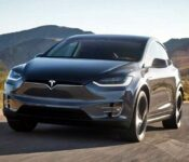 2022 Tesla Model X 2 Black Blue Butterfly Blacked Out
