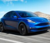 2022 Tesla Model Y Boost Aftermarket Wheels All Weather Floor