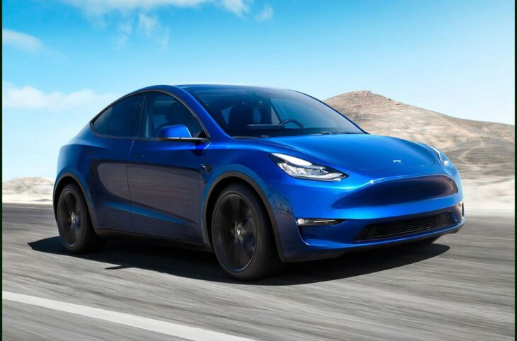 2022 Tesla Model Y Boost Aftermarket Wheels All Weather Floor