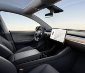 2022 Tesla Model Y Console Charge Time Camping Usb C
