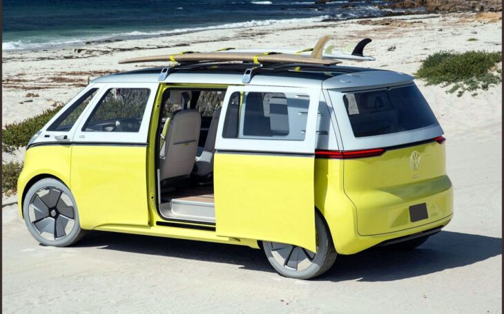 2022 Volkswagen Bus Aesthetic Automatic Art Accessories And Trailer