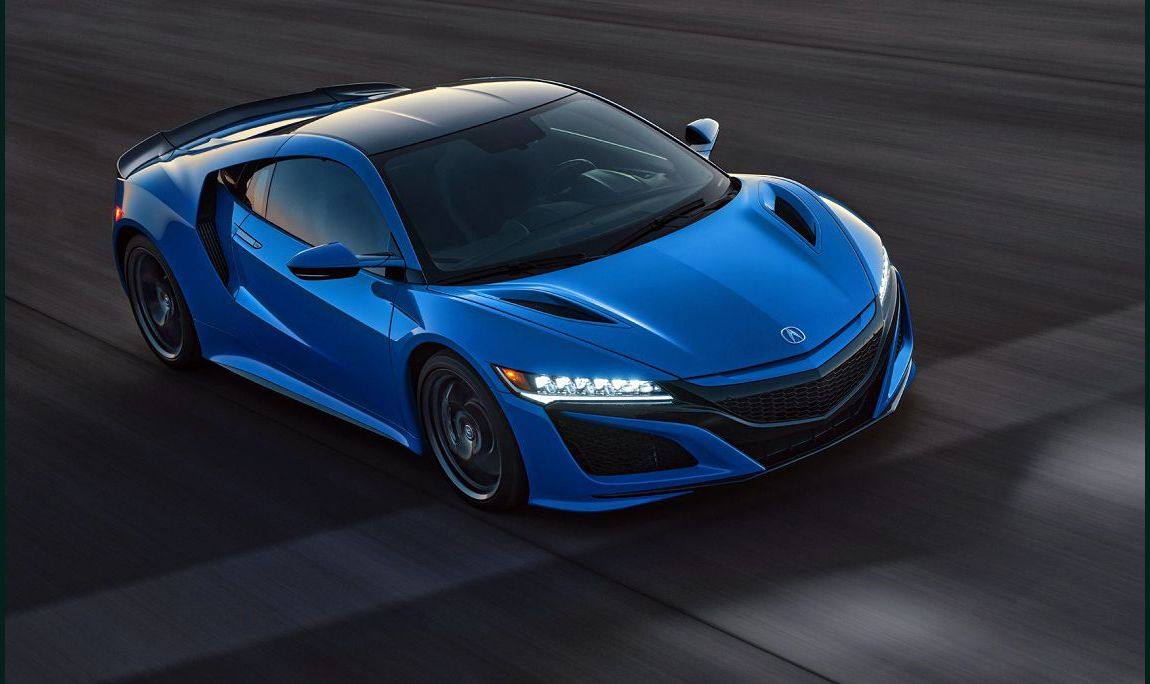 2022 Acura Nsx A Trailer Blacked Out Insurance