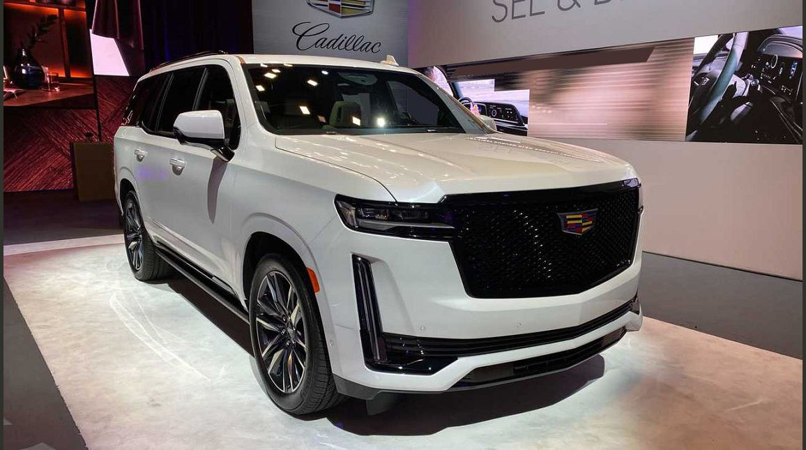2022 Cadillac Escalade 2021 Accessories Actress Anti Theft System