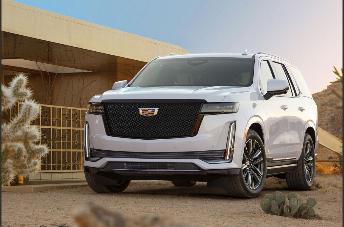 2022 Cadillac Escalade A 202 Extended New Sport Cts Inside