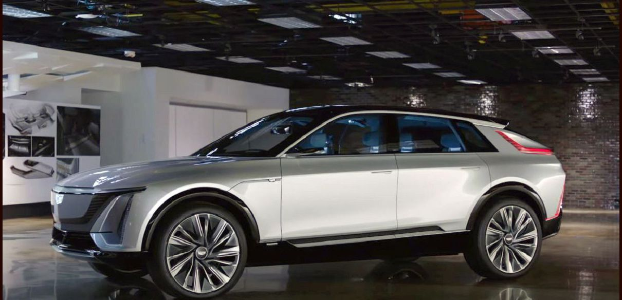 2022 Cadillac Lyriq Canada China Dimensions Debut Display Design