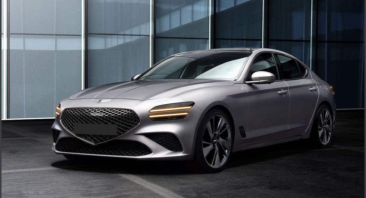 2022 Genesis G70 Images Coupe Korea Lease 2019 Awd