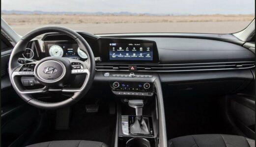 2022 Hyundai Elantra Kit Bumper Black Coupe Commercial Check