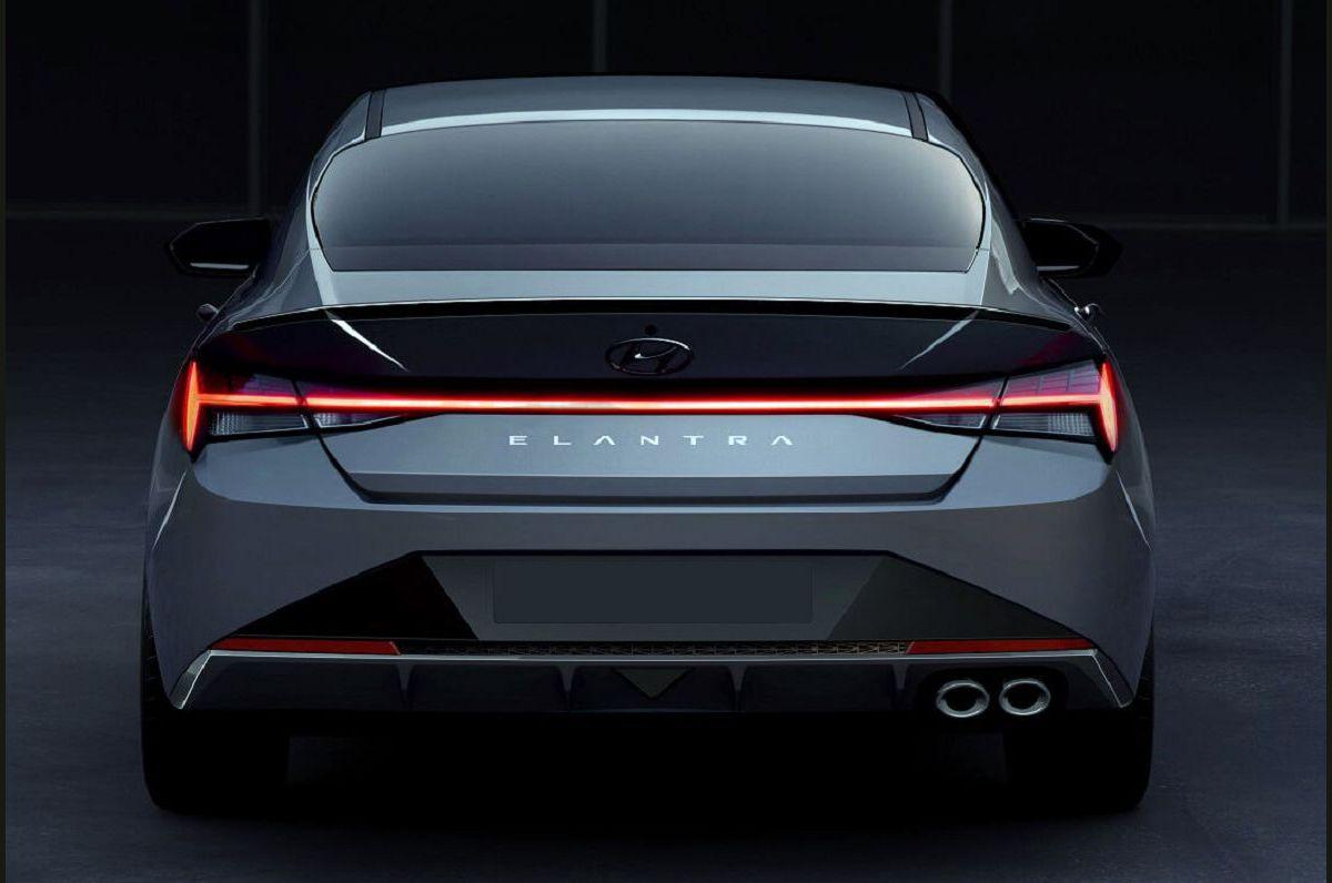 2022 Hyundai Elantra Light Bolt Pattern Blue Pads Body