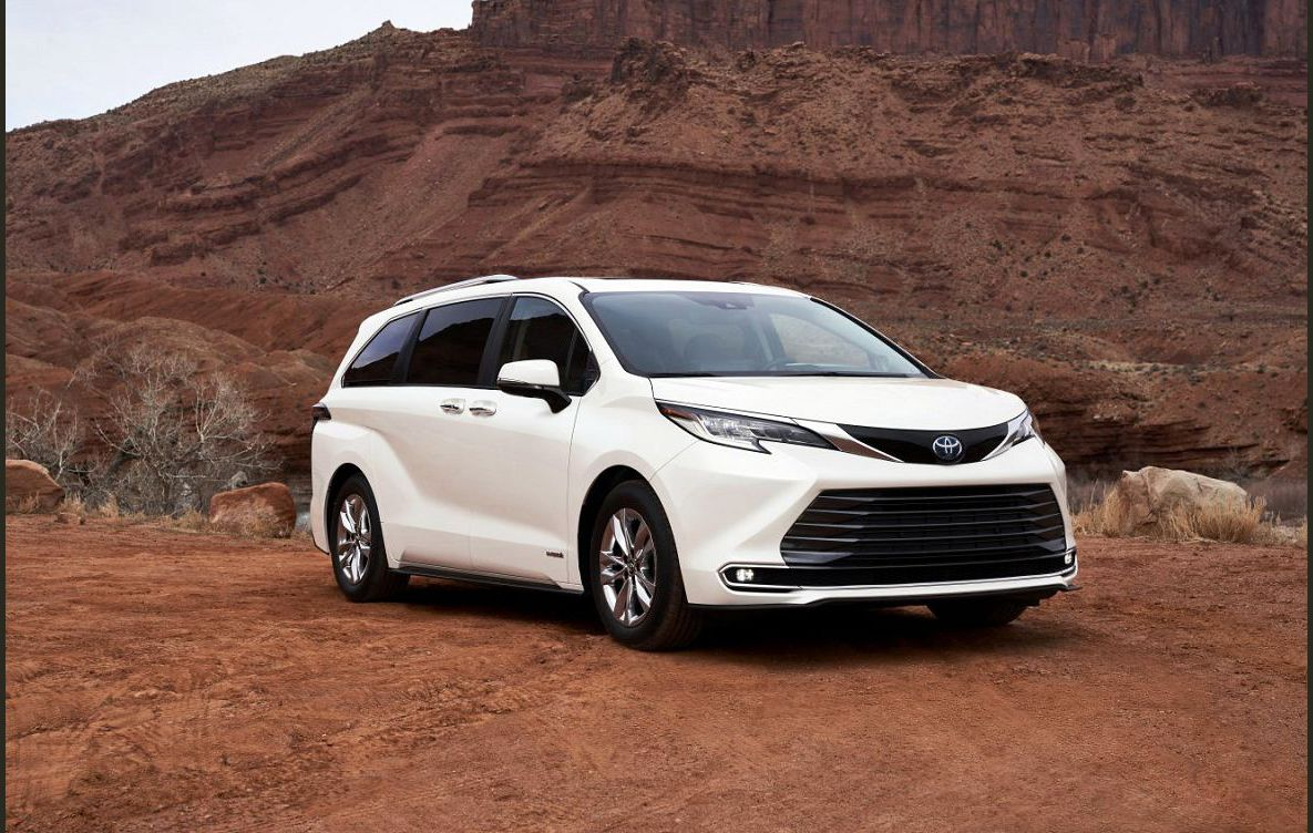 2022 Toyota Sienna 2021 2023 Redesign New Configurations