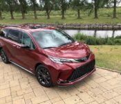 2022 Toyota Sienna Of 5300 Or Honda Odyssey Horsepower