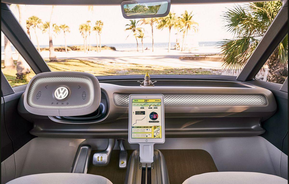 2022 Volkswagen Type 2 Panels Electric Concept Bay Window California