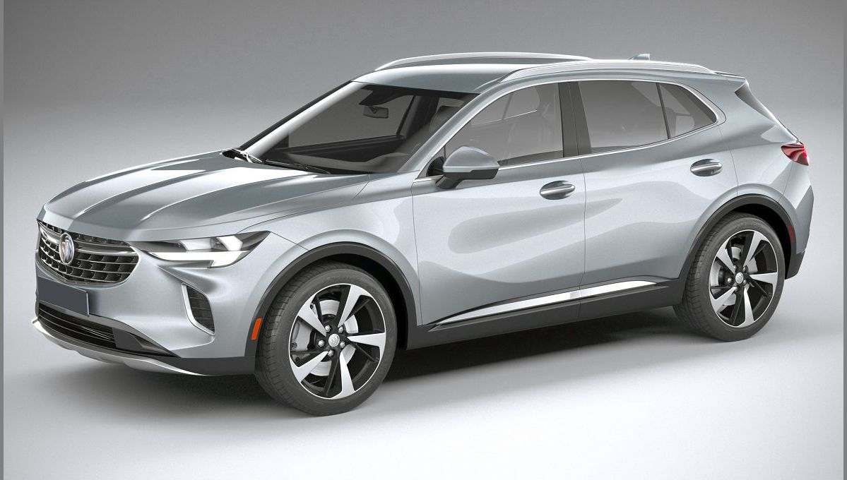 2022 Buick Envision Battery Near Cargo Space Colors Competitors
