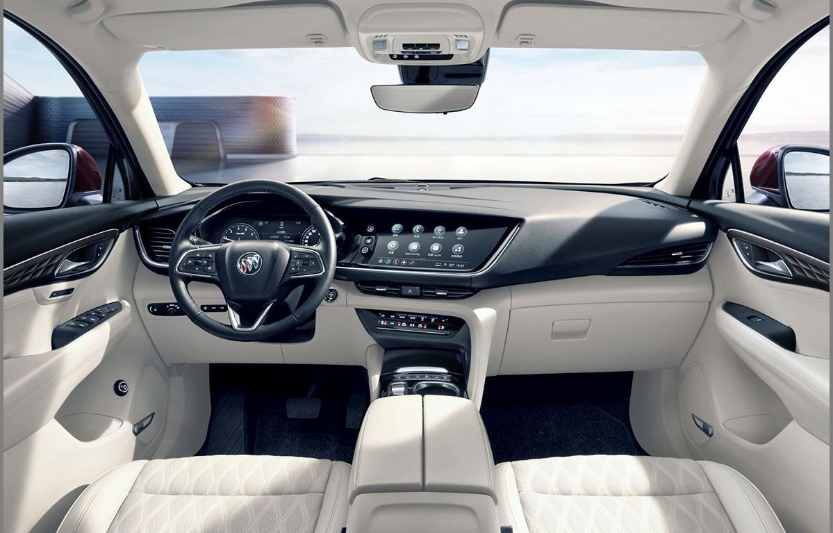 2022 Buick Envision Stop All Weather Mats Start Wheel Drive