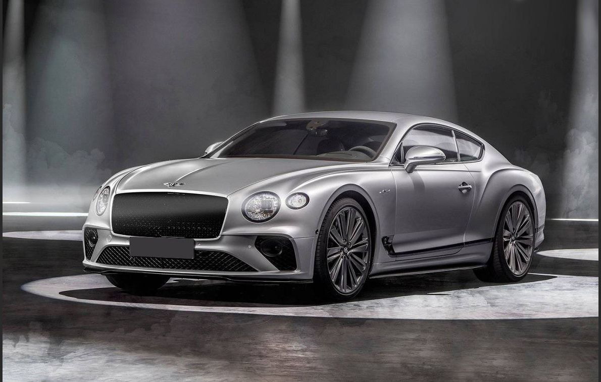2022 Bentley Continental Gt Speed Horsepower Black How Much
