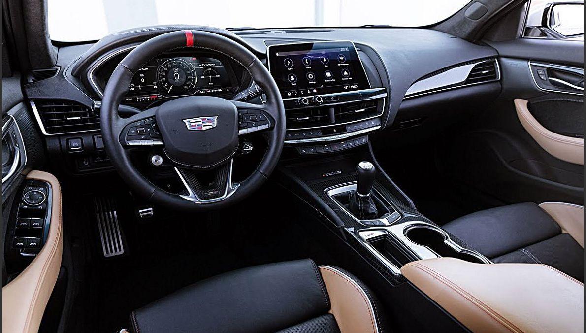 2022 Cadillac Ct4 V Blackwing Manual Canada