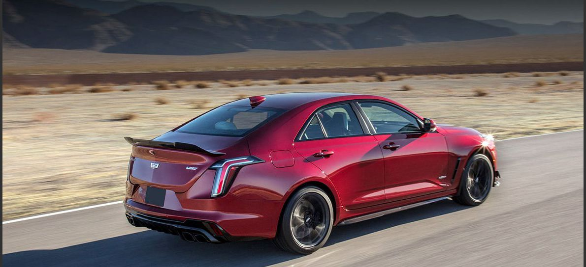 2022 Cadillac Ct4 V Blackwing Options Order Guide Colors